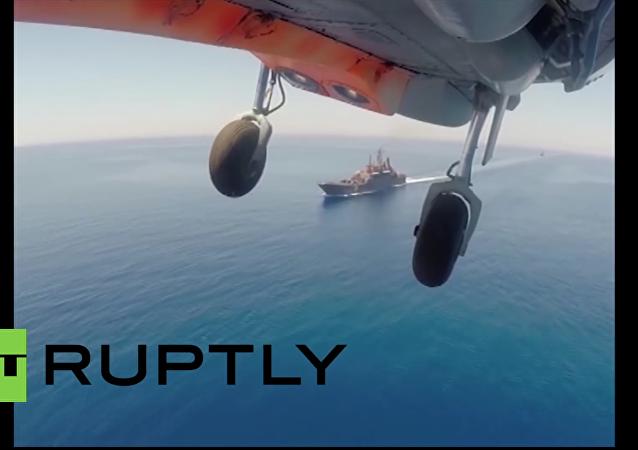 Rusko-čínská cvičení vojenského námořnictva