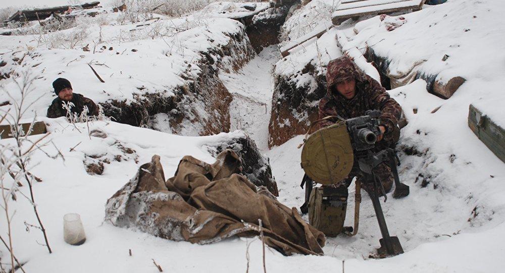 V LLR oznámili, že ukrajinský voják zahynul mrazem na pozicích v Donbasu