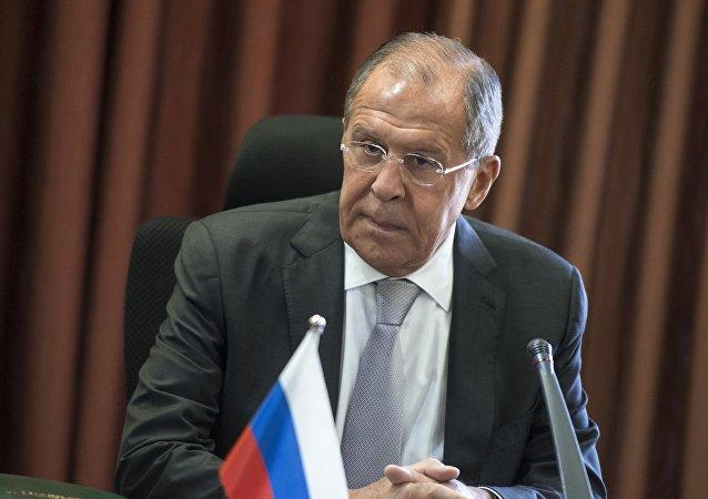 Hlava MZV Ruska Sergej Lavrov