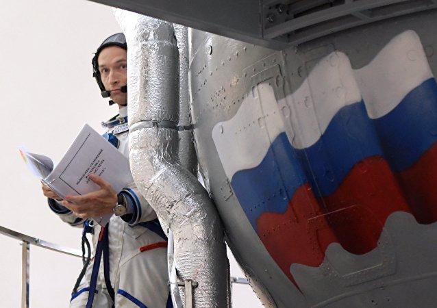 Trénink v Centru přípravy kosmonautů