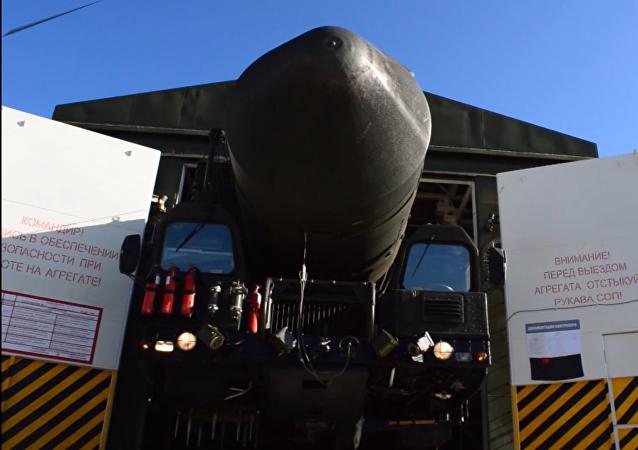 Bojový režim pro ruská raketová vojska