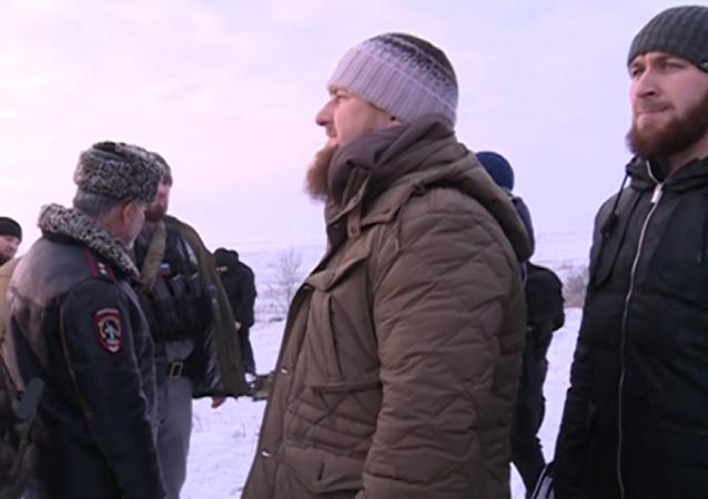 Zadržení ozbrojenců v Grozném