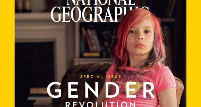 Devítiletý chlapec Avery Jackson na obálce časopisu National Geographic