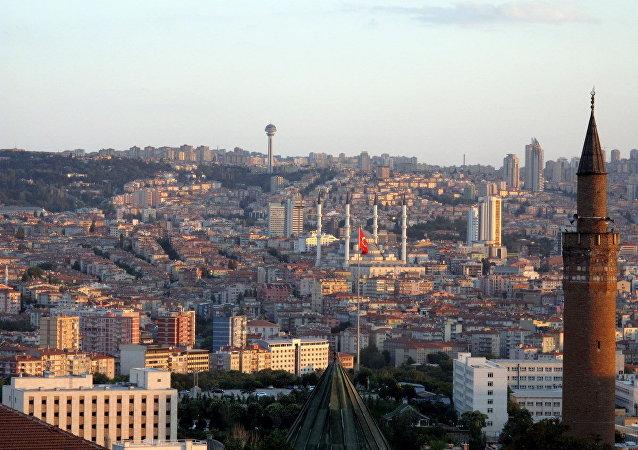 Pohled na Ankaru