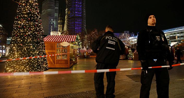 Vánoční trh po incidentu v Berlíně