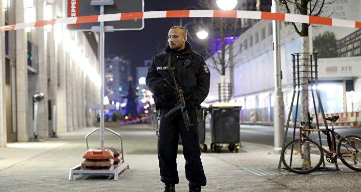 Policista v Berlíně