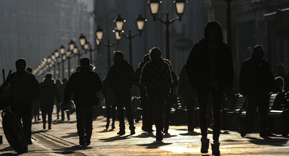 Nikolská ulice v Moskvě