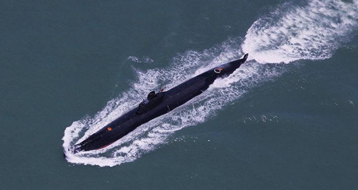Čínská ponorka. Ilustrační foto