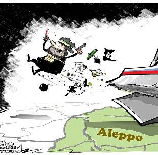 Syrská armáda úplně osvobodila Aleppo od teroristů