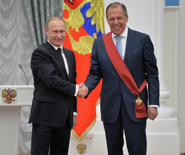 Sergej Lavrov dostal řád Za zásluhy před Vlastí