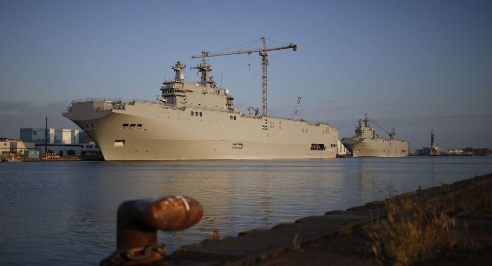 Vrtulníková loď Vladivostok typu Mistral