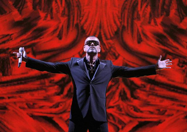 Britský zpěvák George Michael