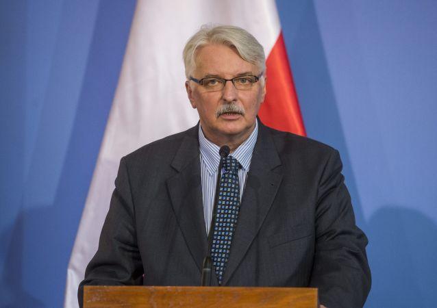 Ministr zahraničních věcí Witold Waszczykowski