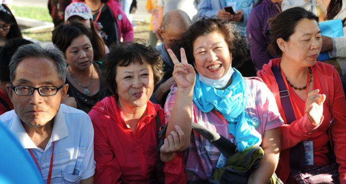Čínští turisté