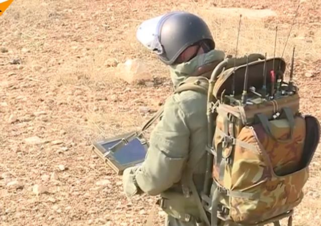 Zneškodnění min v Aleppu