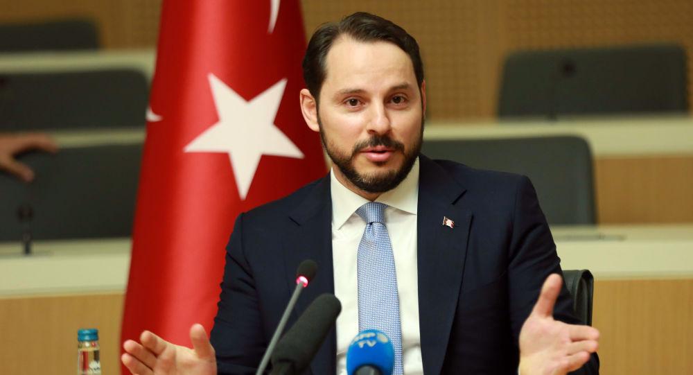 Turecký ministr energetiky Berat Albayrak