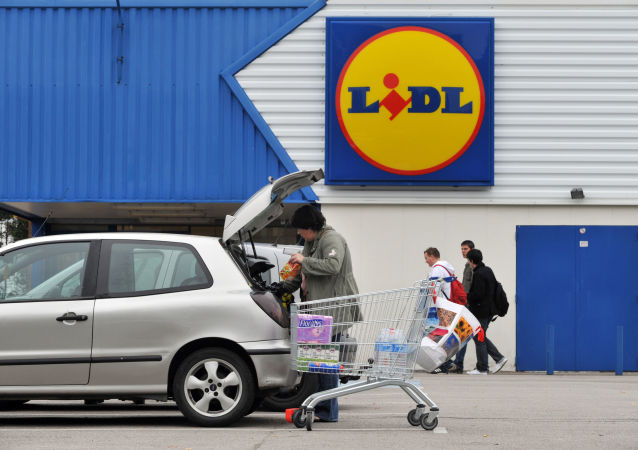 Obchod Lidl ve Francii