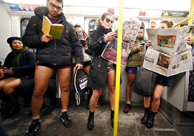 Flashmob bez kalhot
