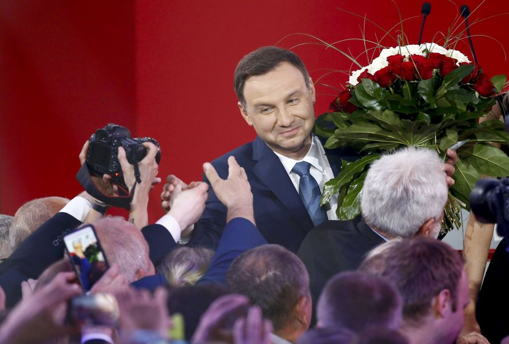Andrzej Duda je připraven sloužit polskému lidu