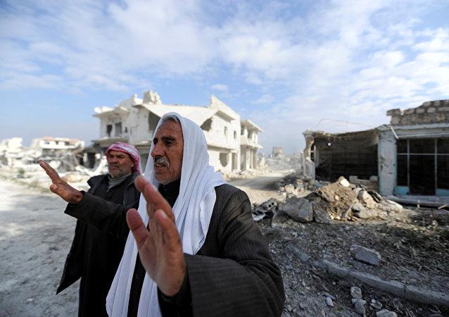 Muži v Aleppu