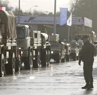 Američtí vojáci přicházejí do Polska v rámci operace Atlantické odhodlání