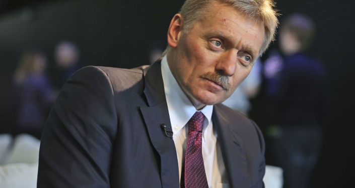 Putinův tiskový mluvčí Dmitrij Peskov