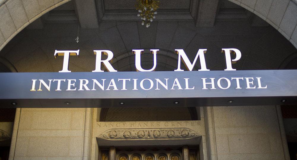 Vchod Trumpova hotelu)