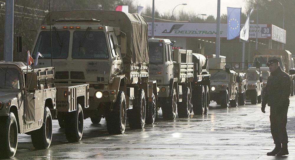 Americká tanková brigáda v Polsku