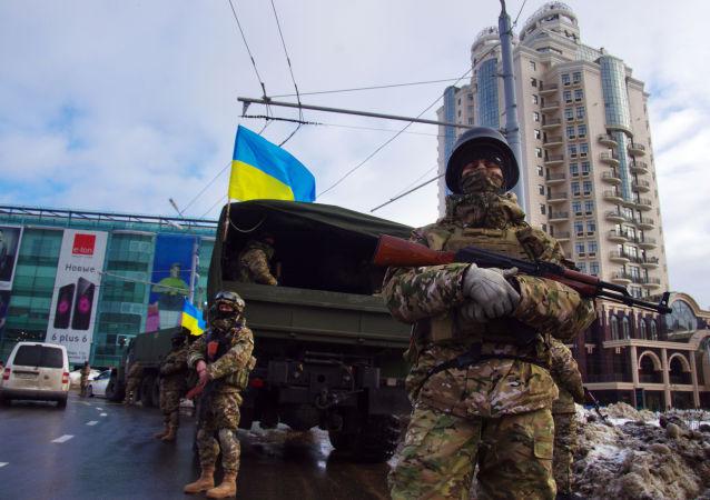 Ukrajinské speciální jednotky v Oděse