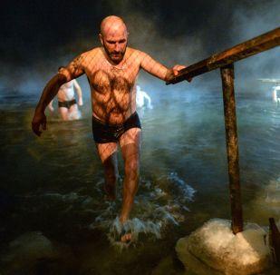 Oslavy Křtu Páně v ruských městech