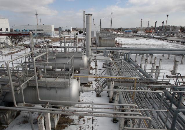 Skladiště plynu na Krymu