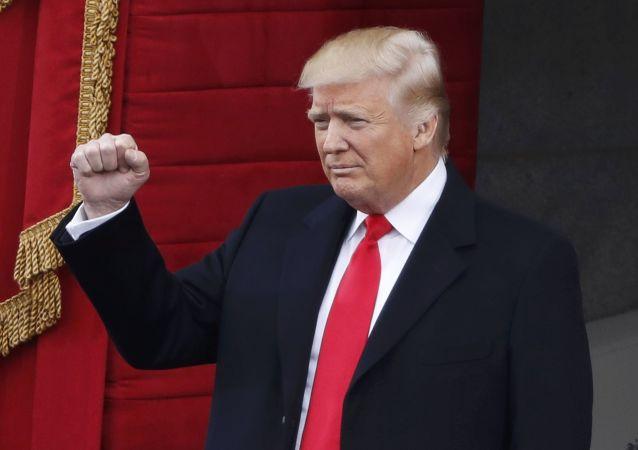 Donald Trump před inaugurací