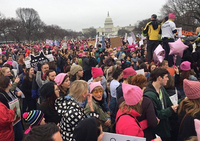 Pochod žen proti Trumpovi