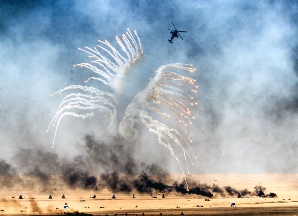 Vojenské cvičení v Kuvajtu