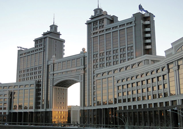 Kasachstans Hauptstadt Astana