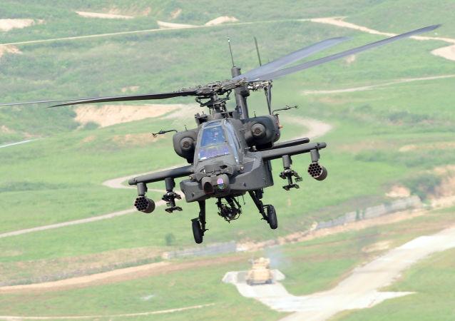 Vrtulník Apache AH-64
