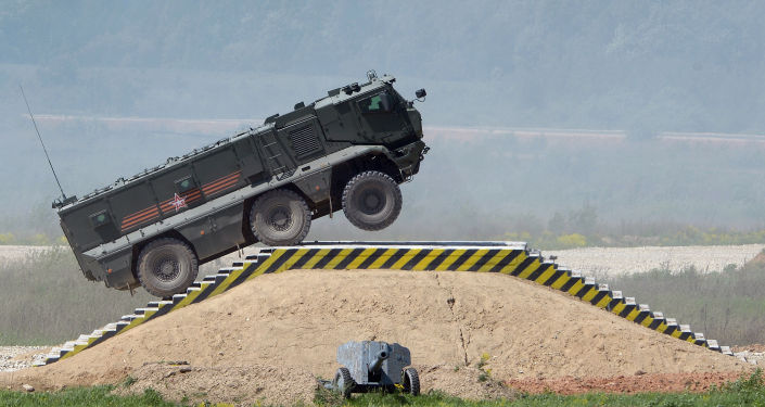 Obrněný automobil Tajfun-K.