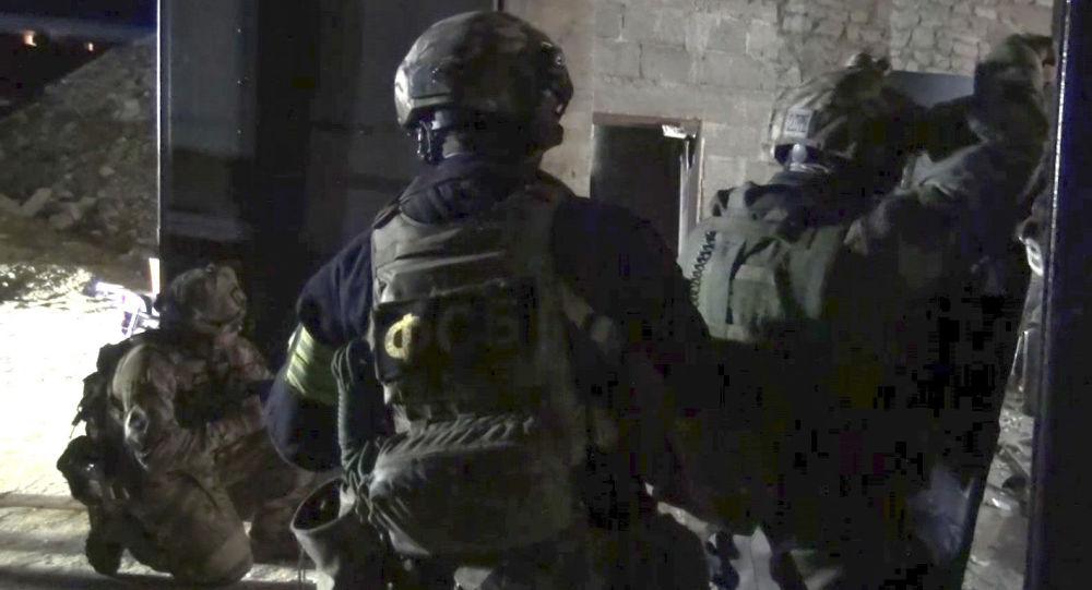 Protiteroristická operace v Dagestánu. Archivní foto