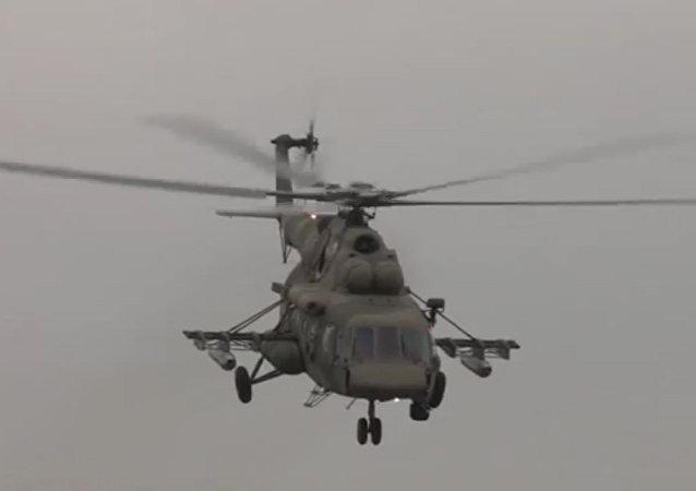 Tréninkové lety posádek Mi-8AMTŠ