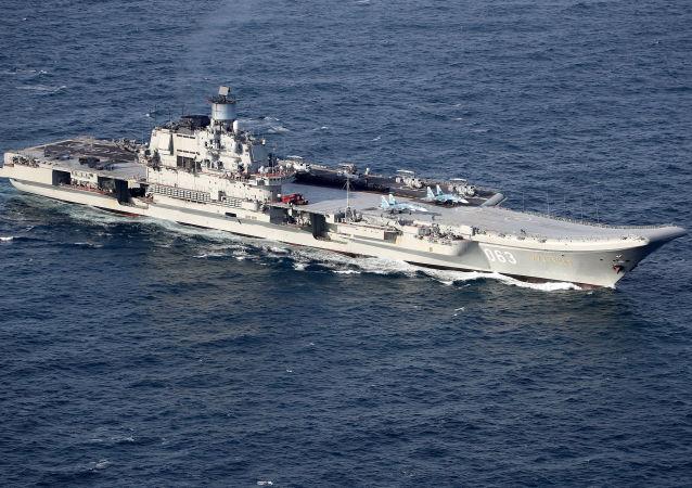 Těžký letadlový křižník Admiral Kuzněcov