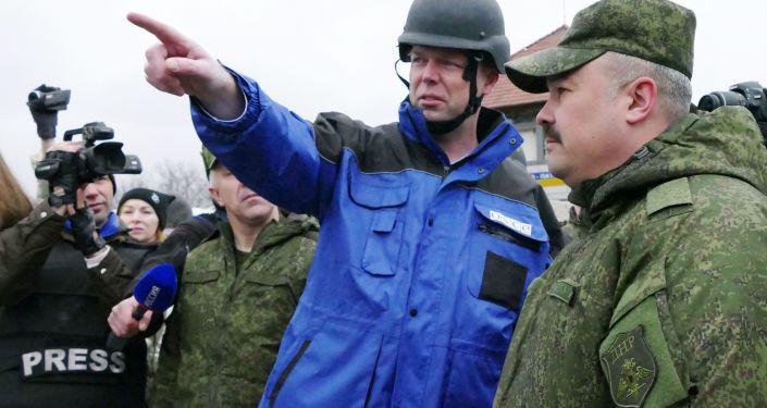 První náměstek hlavy Speciální monitoringové mise OBSE na Ukrajině Alexandr Hug