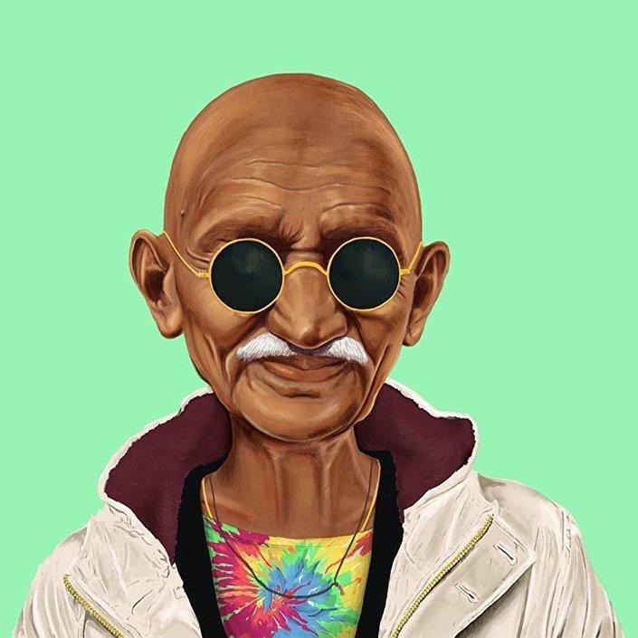 Předák indického hnutí za nezávislost Mahátma Gándhí