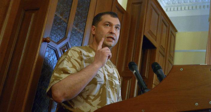 První vedoucí představitel samozvané Luhanské lidové republiky Valerij Bolotov