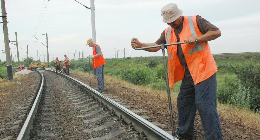 Pracovníci Ruských železnic