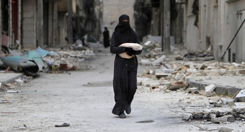 Žena v Aleppu