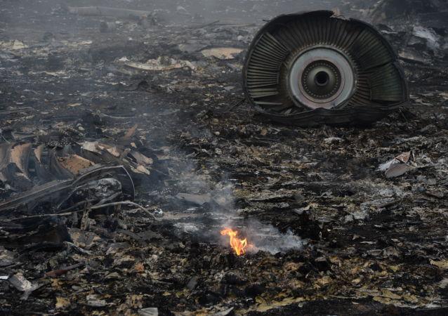 Na místě havárie Boiengu MH17