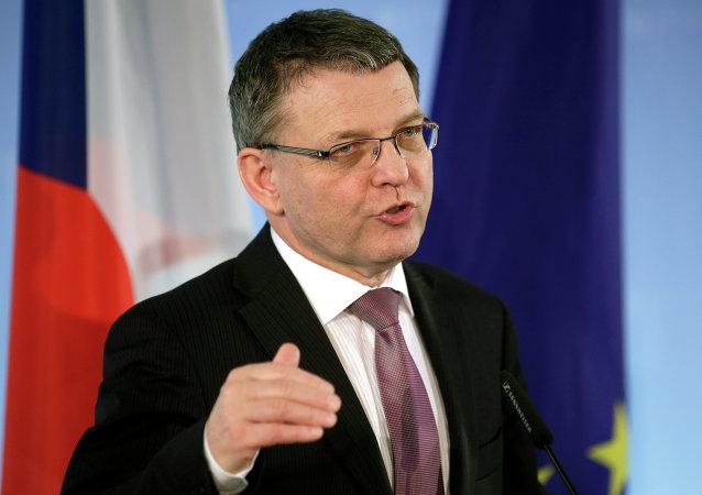 Český ministr zahraničí Lubomír Zaoralek