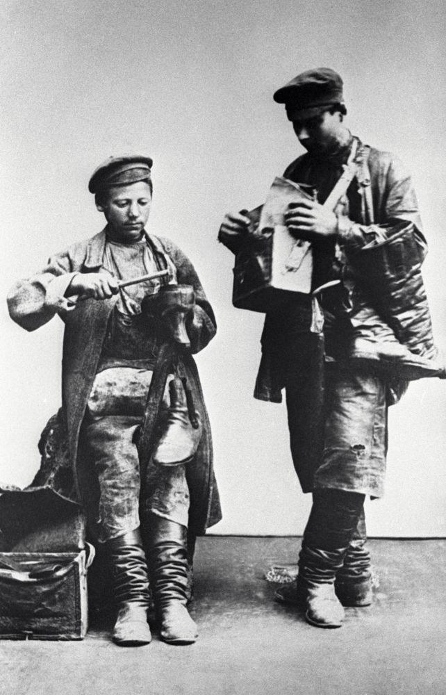 Moskevští ševci, rok 1913