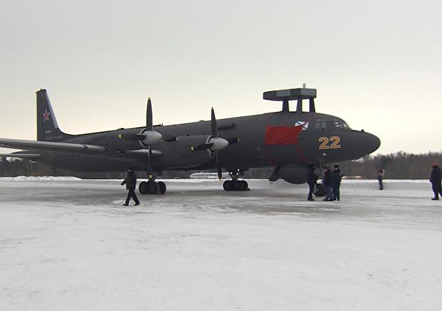 Protiponorkový letoun Il-38N