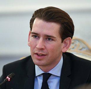 Rakouský kancléř Sebastian Kurz